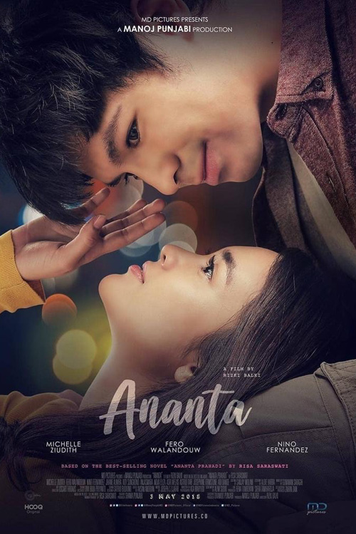 Poster Official Film Ananta