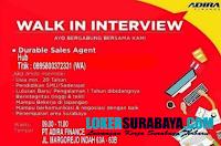 Walk In Interview di PT. Adira Finance Surabaya Nopember 2019