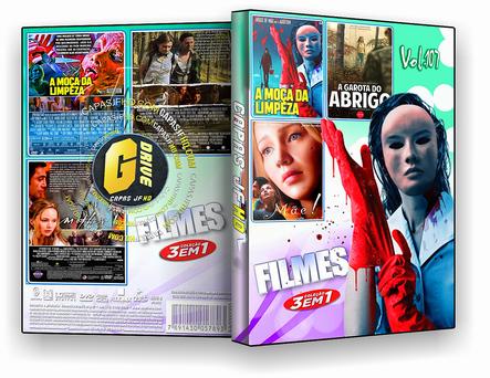 DVD COLEÇÃO FILMES 3X1 VOL.107 - ISO