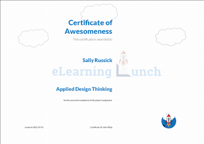 eLearning Launch Design Thinking Certificate