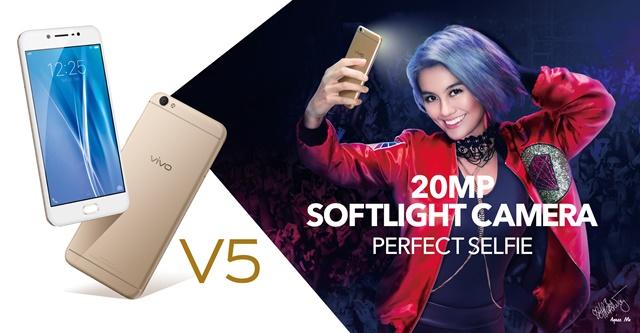 Harga baru Vivo V5, Harga Bekas Vivo V5, Spesifikasi Vivo V5
