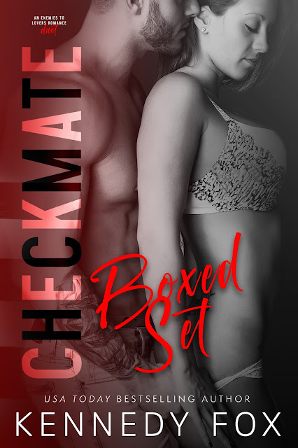 COVER REVEAL for Checkmate Boxed Set by Kennedy Fox