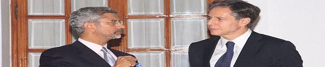 Blinken Calls On Jaishankar, Reaffirms US-India Cooperation On Regional Security