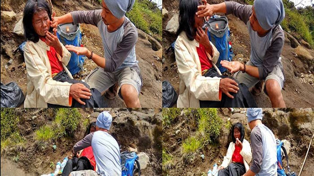 Ibu Ini Dibuang ke Puncak Gunung Setinggi 2.840 Meter Karena Badannya kaku, Kaki Bengkak, Kulit Mengelupas.