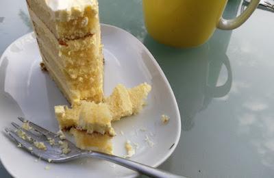 Zitronenschnitz-Torte (mit italienischer Buttercreme)