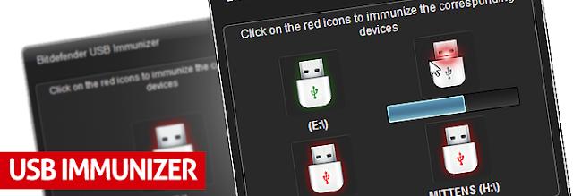 Bitdefender USB Immunizer. Бесплатная защита компьютера от autorun вирусов.