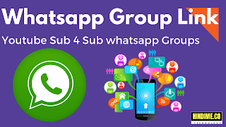 Youtube promotion whatsapp group link (hindime)