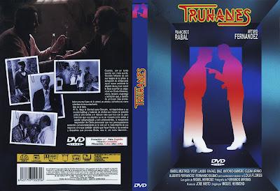Carátula dvd: Truhanes (1983)