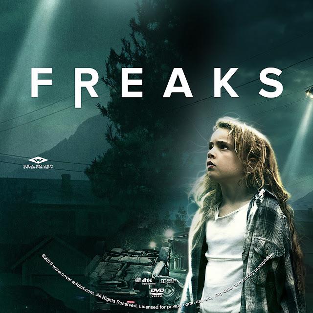 Freaks DVD Label