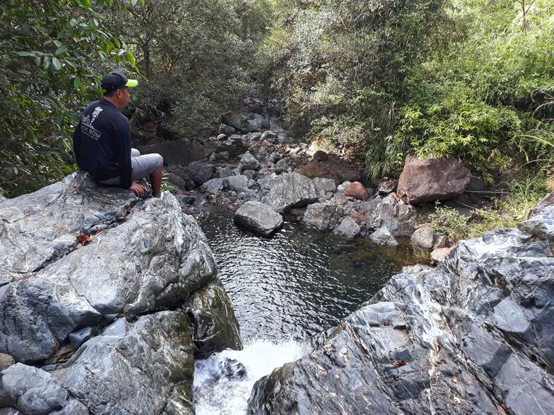 Tarudak Peak's Tarudak Falls