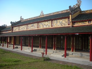 The Mieu Temple. Imperial City of Hue (Vietnam)