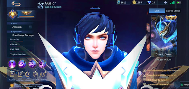 Skin Hero Gusion Terkeren di Mobile Legends