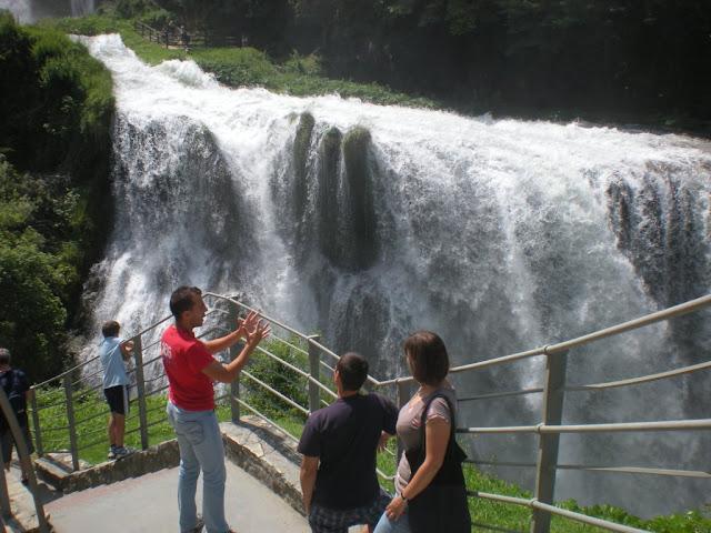 Belvedere alla Cascata delle Marmore - travel blog Viaggynfo