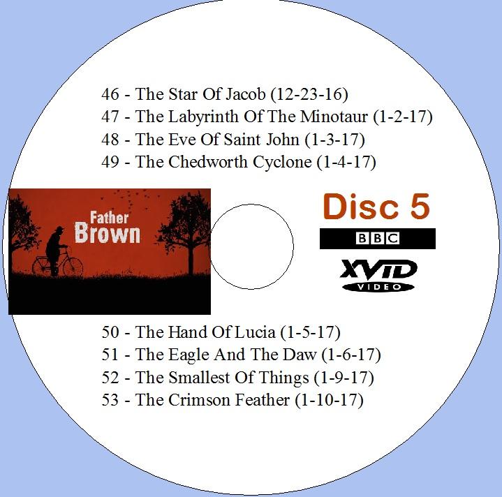UKTV Florida: Father Brown - Disc 5
