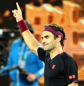 Roger Federer beats John Millman in five-set thriller win reach  Australian Open 2020 fourth round.
