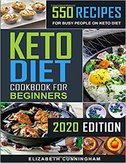 Keto Diet Cookbook For Beginners: 550 Recipes For Busy People on Keto Diet (Keto Diet for Beginners)  on NikhilBook