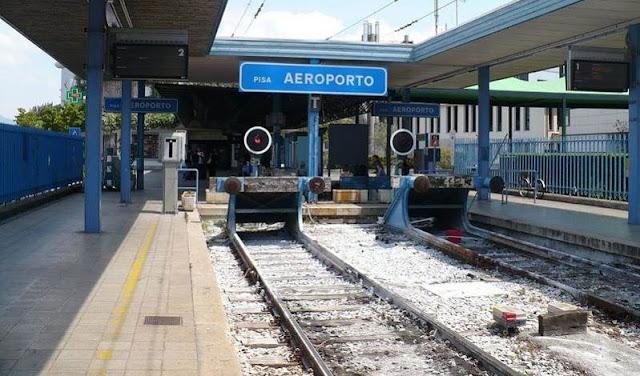 Como ir do aeroporto de Pisa até o centro turístico de trem
