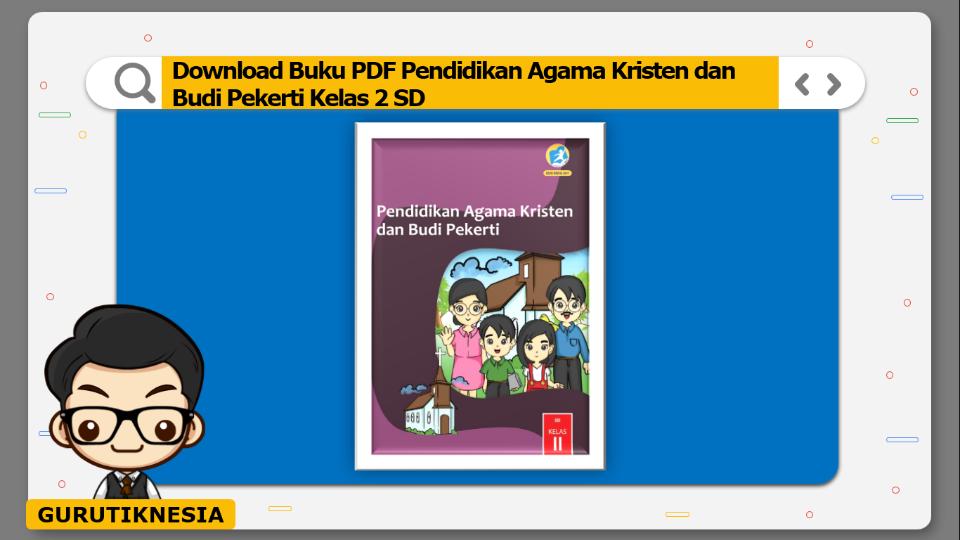 download buku pdf pendidikan agama kristen dan budi pekerti kelas 2 sd