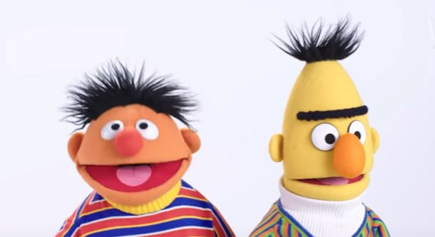 The Sesame Street cast read lines from classic movies