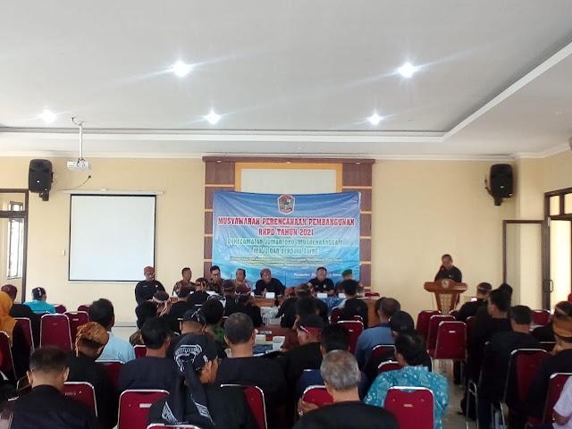 KodimKaranganyar - Danramil Hadiri Musrenbang Kecamatan Jumantono