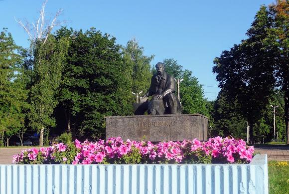 Конотоп. Памятник Т. Г. Шевченко. 1993 г.