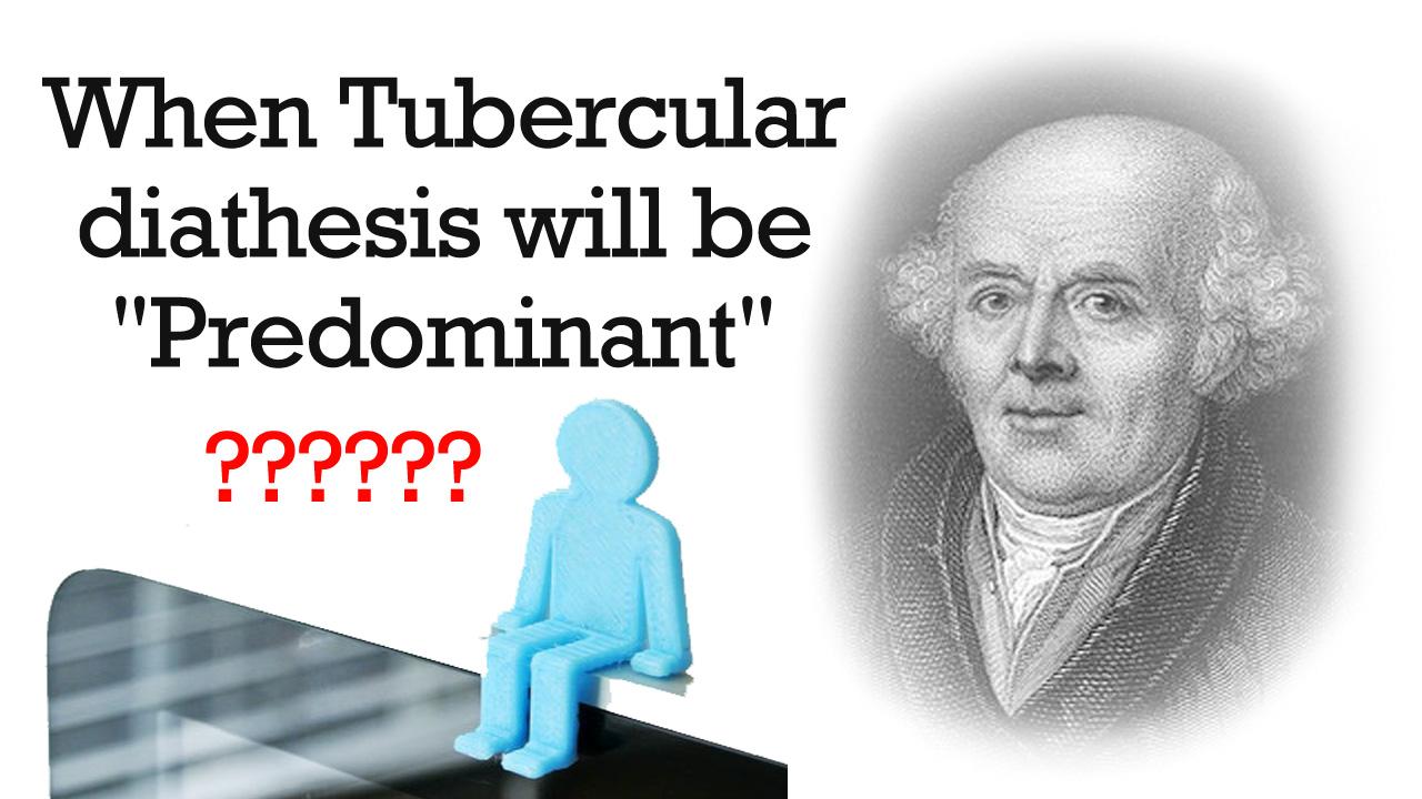 Tubercular diathesis