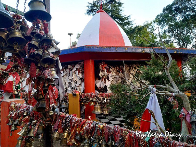 Temple of bells and letters - Chitai Golu Devta Temple Almora Uttarakhand