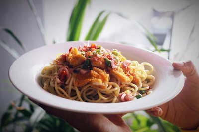 Menu Spaghetti Kecombrang