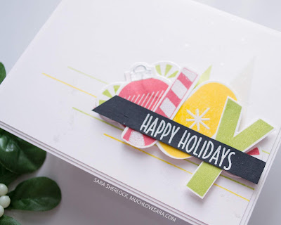 This colorful and fun Christmas card was created using stamps and dies from the Concord & 9th 2019 Holiday Release.  Featuring the Merry Shapes bundle.  For the full details for each of four cards, along with details about where to purchase the supplies used, please visit the blog post.