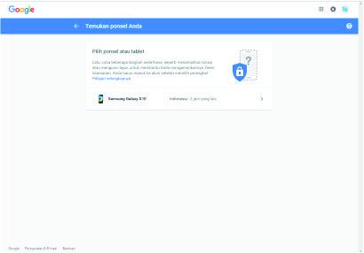 Melacak HP Android Yang Hilang Tanpa Aplikasi
