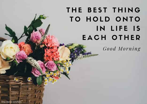 good morning love messages and flowers