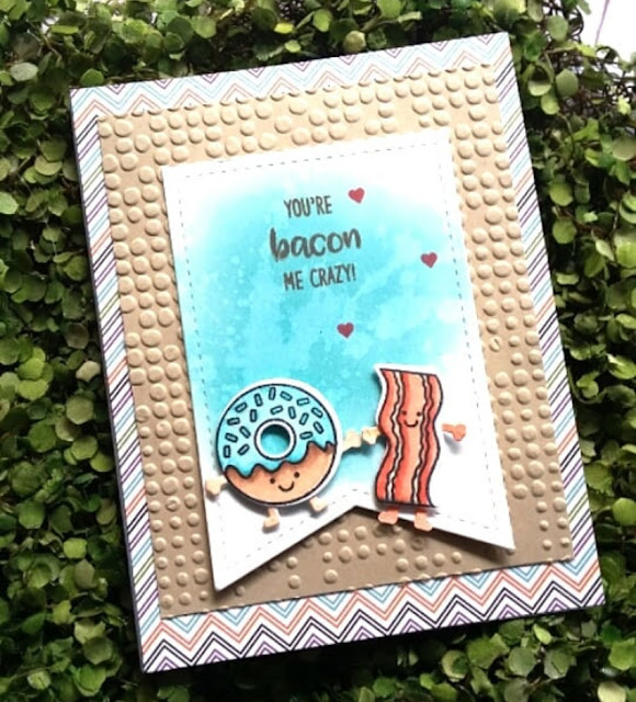 Sunny Studio Stamps: Breakfast Puns Customer Card Share by Christina L