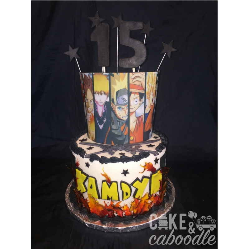 Anime Cake Cake And Caboodle