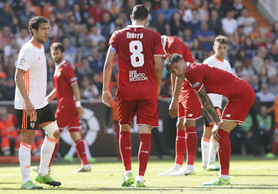 Crónica Valencia CF 0 - Sevilla FC 0