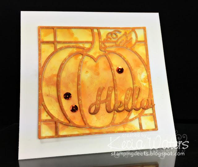Pumpkin Quilt, Kecia Waters, Distress Oxides