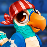 PG Cute Blue Parrot Escap…