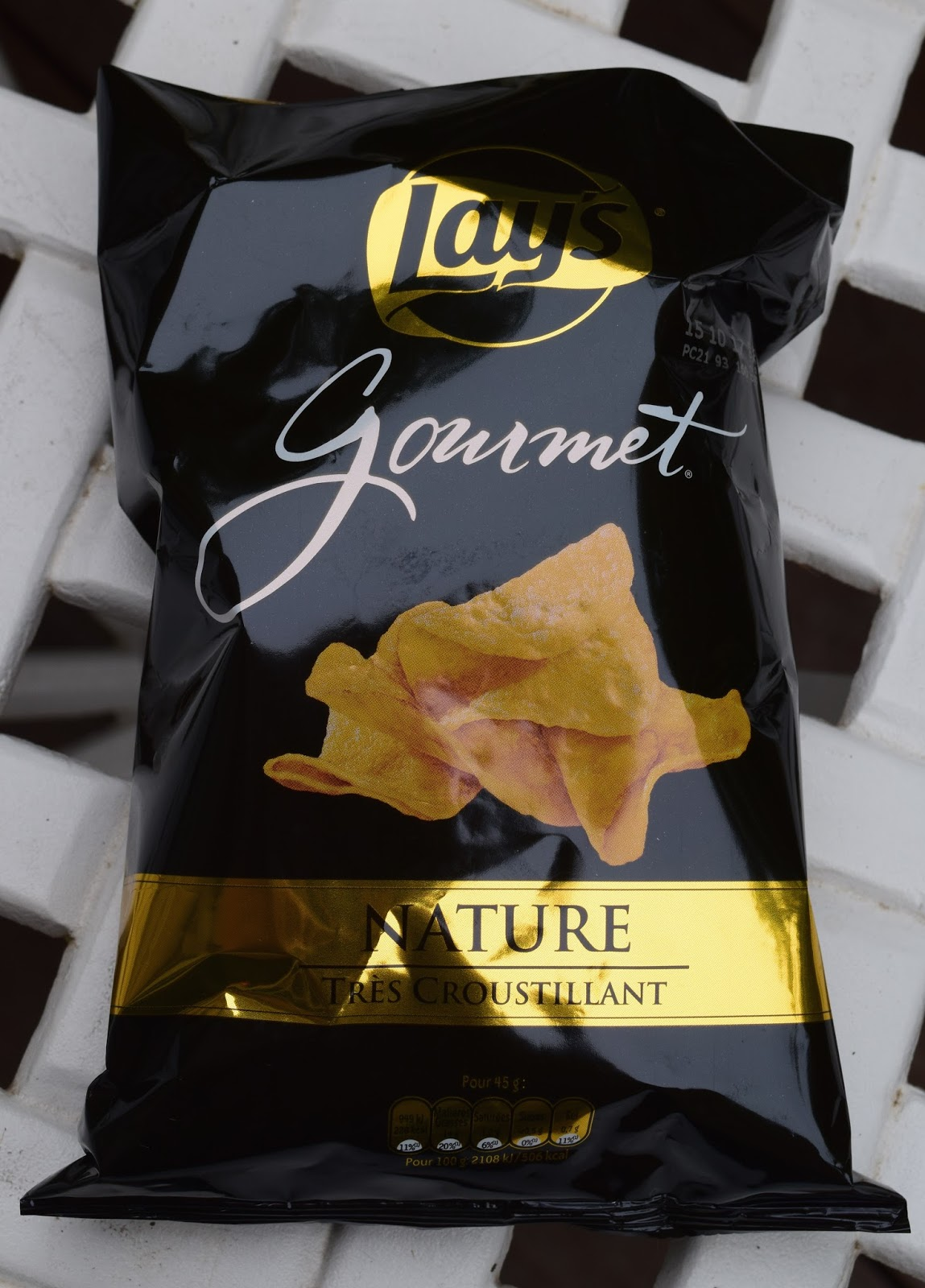Lay's Gourmet Nature Très Croustillant