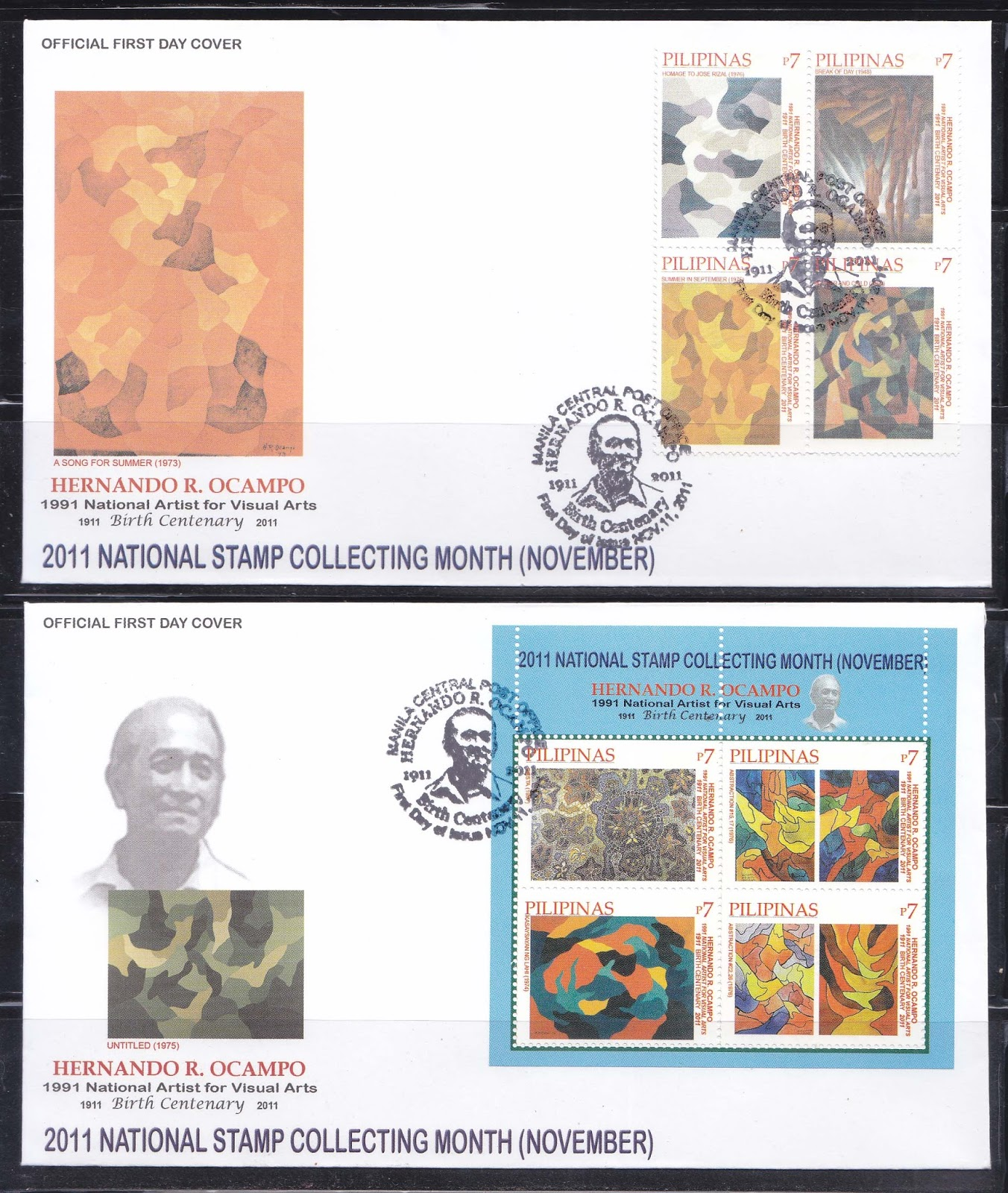 cathy song stamp collecting