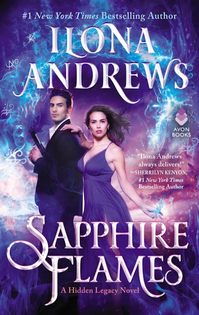 This Series Will Be The End Of Me: Sapphire Flames by Ilona Andrews