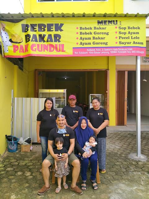Resmi Dibuka, Bebek Bakar Pak Gundul hadir penuhi keinginan pecinta kuliner di Bandar Lampung