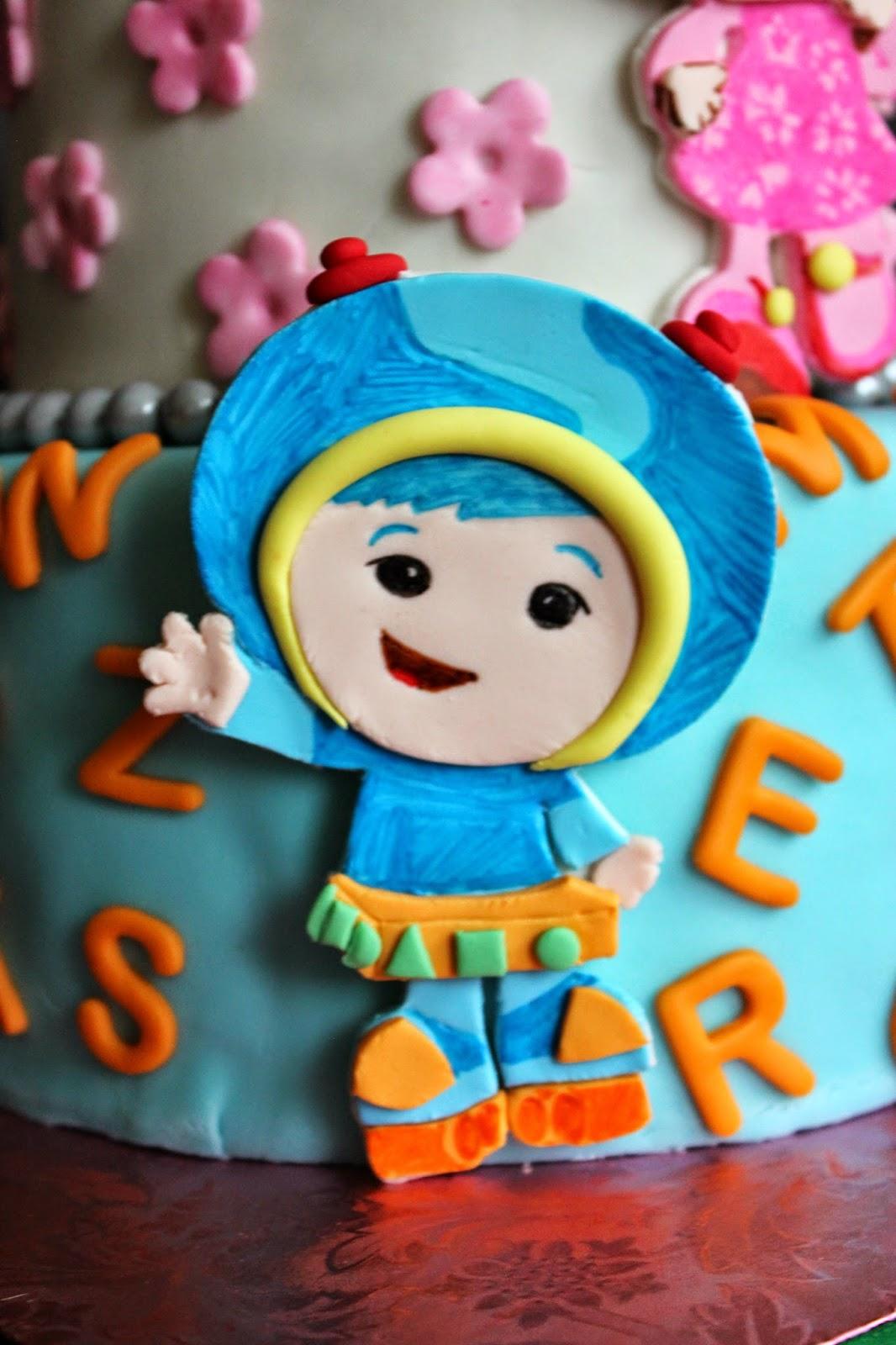 Umizoomi Cake Topper Facebook