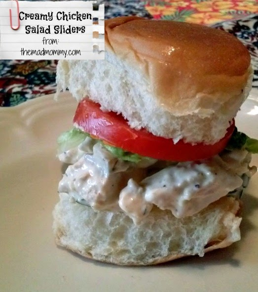 These Creamy Chicken Salad Sliders are perfect for lunch, dinner, picnics and camp outs! This is the creamiest chicken salad recipe! It is delicious and easy!