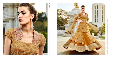 Elegance-Latest Fashion Designer Traditional Looking heavy Lahenga
