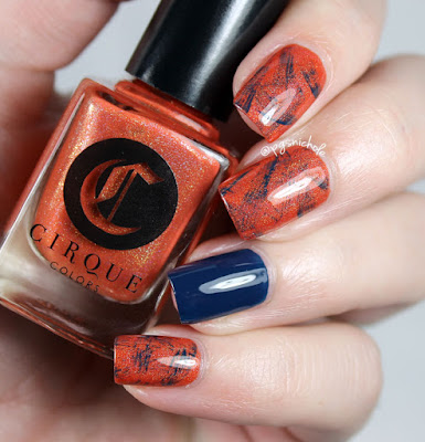 Cirque Colors Tangerine Dream + Selvedge