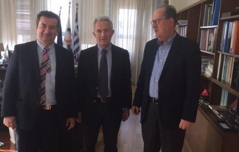 Στον πρόεδρο του ΟΣΕ  Νίκας και Μαλτέζος για την σιδηροδρομική γραμμή Κόρινθος – Ναύπλιο
