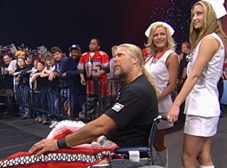 WCW Superbrawl Revenge 2001 - Kevin Nash got no sympy from Scott Steiner