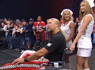 WCW Superbrawl Revenge 2001 - Kevin Nash got no sympy from Scott Steiner