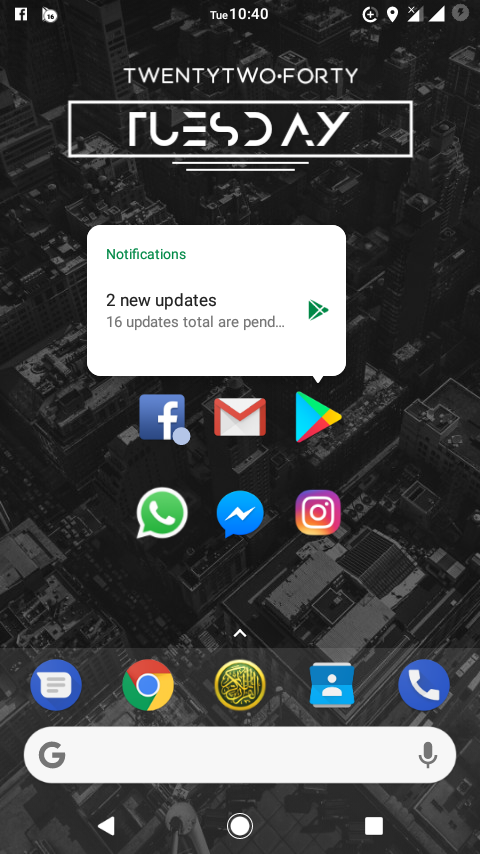 Nova Launcher 5.5-beta 3 update adopts docked search bar, Android Oreo-style pop-up menu, and more 2