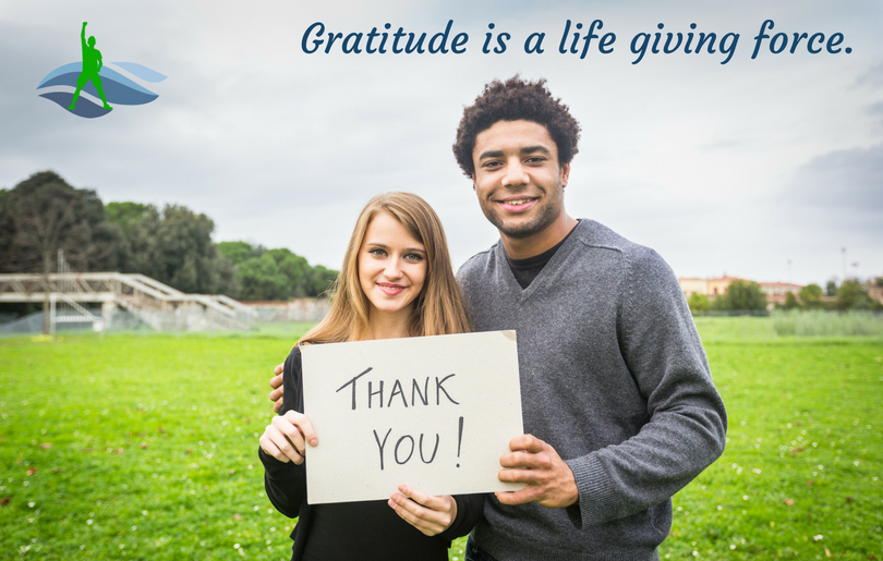 Gratitude is a life giving force.