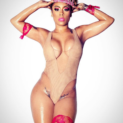 Singer Keyshia Cole shares sexy photos to celebrate turning 36